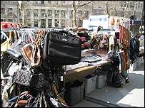 New York market stall