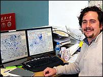 Researcher Pablo Mateos