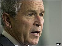President George Bush (26/3/08)