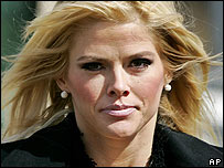Anna Nicole Smith 28 February 2006