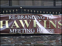 Hawkins meeting house