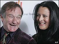 Robin and Marsha Garces Williams