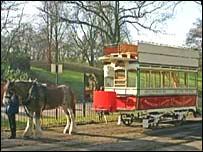 New-look tram