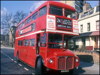 A routemaster bus