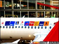Star Alliance airliner