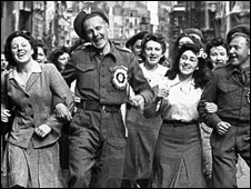 VE Day, May 1945
