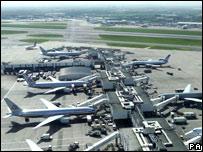 Terminal 3 looking to Terminal 4