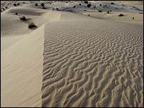 File photo of the Shara desert near Timbuktu, Mali