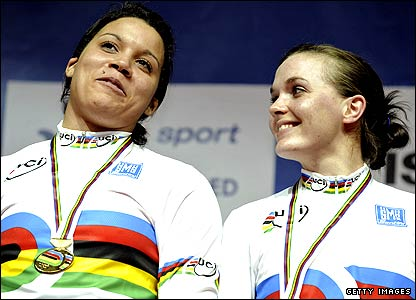 Shanaze Reade and Victoria Pendleton