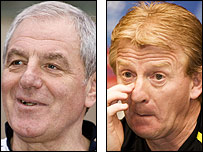 Walter Smith and Gordon Strachan go head-to-head on Saturday