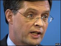 Dutch PM Jan Peter Balkenende, 27 March 2008