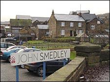John Smedley's factory, Lea Bridge