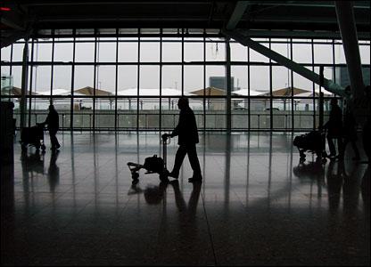 Passenger at Terminal 5