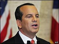 Puerto Rico governor Anibal Acevedo Vila, 2006