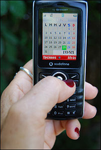 Teléfono celular (Foto: Raquel Pérez)