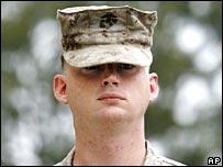 Marine L/Cpl Stephen B Tatum