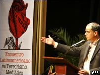 Foro Latinoamericano contra el Terrorismo Mediático, en Caracas