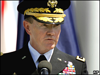 Lt Gen Dempsey assumes CentCom command on 28 March 2008