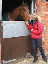 Mr Pointment and groom Natalie Griffiths