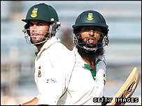Neil McKenzie and Hashim Amla