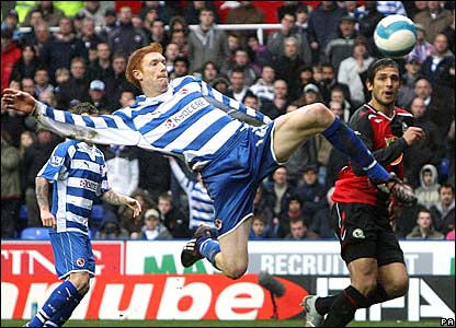 Reading striker Dave Kitson