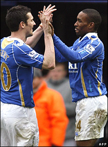 David Nugent and Jermain Defoe