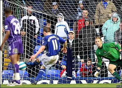 Gary McSheffrey scores for Birmingham City