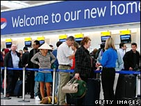Check-in at Terminal 5