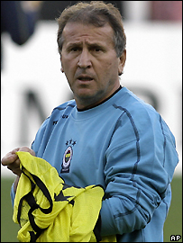 Fenerbahce coach Zico