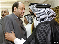 Maliki meets Shia leaders in Basra