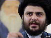 Moqtada Sadr. File pic