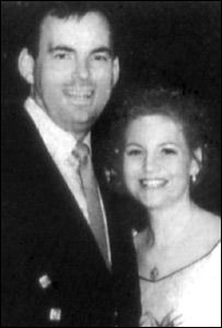 Malcolm Webster with his first wife Claire