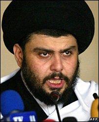 Moqtada Sadr in Kufa (archive)