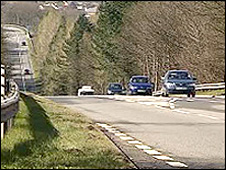The A465 heads of the valleys road