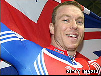 Britain's Chris Hoy