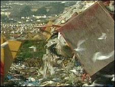 Bbc News Uk England Devon City 39 S Landfill Site At Capacity