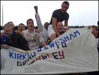 Kirkham & Wesham team celebrate