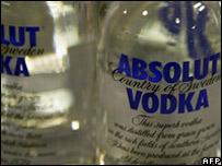 Botellas de Absolut Vodka (Foto: Archivo)