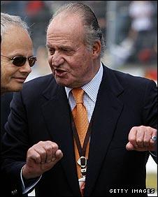 King Juan Carlos of Spain