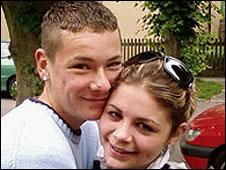 Ricky Butler and Jade Pemberton