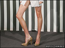 Lily Cole's legs