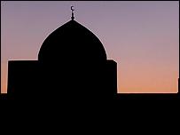 Mezquita en Uzbekistán.