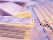 Keyboard and US money -  file photo
