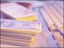 Keyboard and US money -  file photo