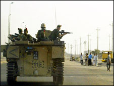 UK troops in Basra