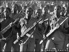 Zimbabwean independence fighters