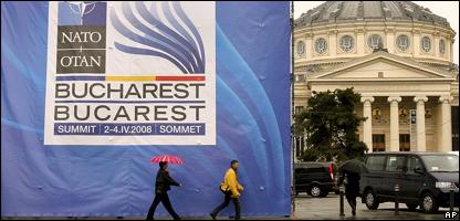 Valla anuncia la cumbre de la OTAN en Bucarest