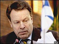 Отправленный в отставку с поста министра иностранных дел Финляндии Илкка Канерва