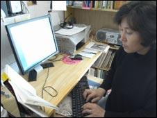 Magazine editor Choi Jin I