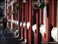Row of terraced houses (Getty Images)